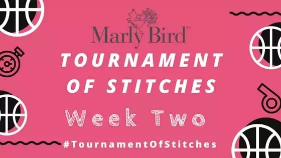 Marly Bird Tournament of Stitches Mystery Make-Along Week Two