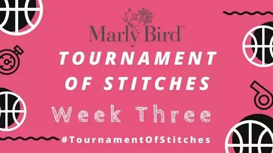 Marly Bird Tournament of Stitches Mystery Make-Along Week 3 Clue