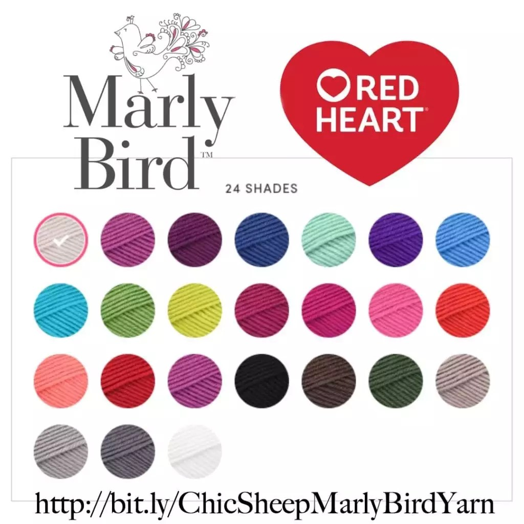 Chic Sheep by Marly Bird™ and Red Heart Yarns