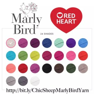 Chic Sheep by Marly Bird™ yarn-shop all 24 colors of this 100% Merino Wool yarn