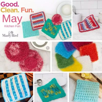 Red Heart Scrubby Patterns for the Kitchen