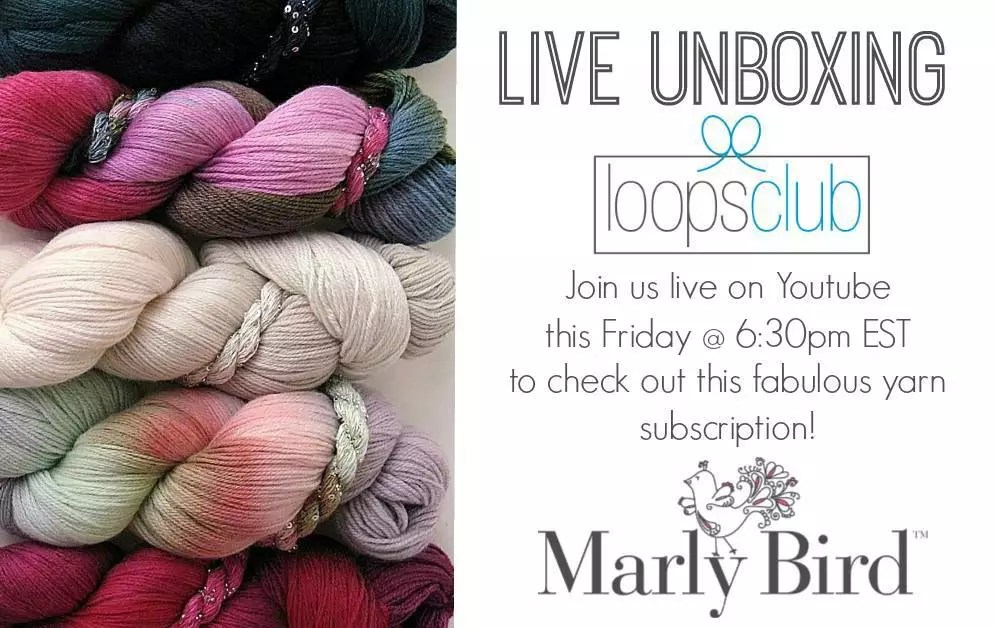 LIVE Unboxing with Marly Bird and Loops Club