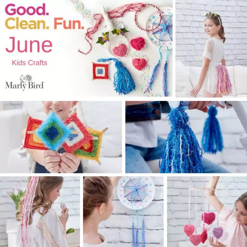 Scrubby Yarn Kids Crafts With Red Heart Marly Bird