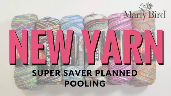 NEW Super Saver Planned Pooling yarn from Red Heart