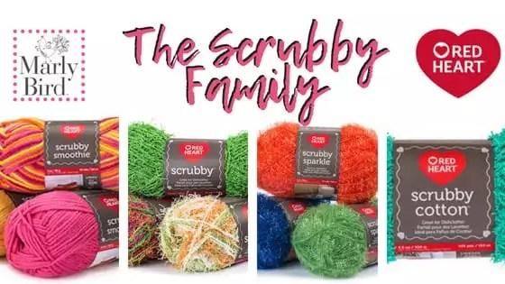 The Scrubby Yarn Family