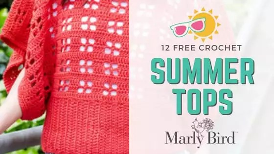 12 Free Crochet Summer Tops Marly Bird