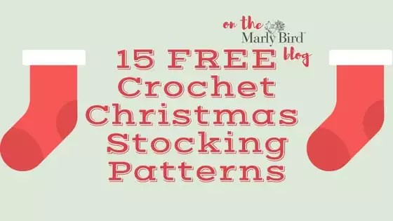 """image about Stocking Patterns Printable named 15 Totally free Crochet Xmas Stockings Models - Marly Birdâ""""¢"""