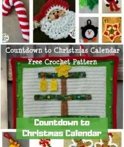 7 FREE Crochet Advent Calendars-Countdown to Christmas Calendar