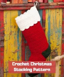 Crochet Christmas Stocking Pattern