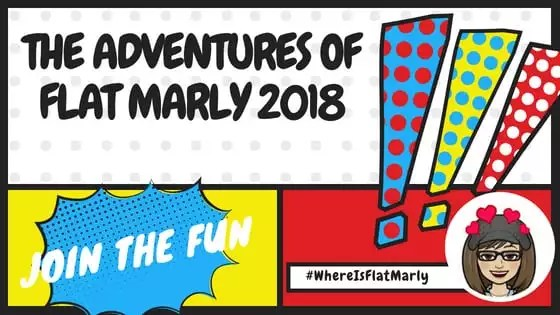 Summer Fun with the Adventures of Flat Marly 2018