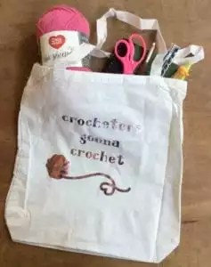 Underground Crafter's Project Bag