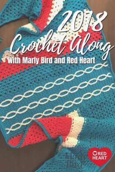 2018 Abstract Shawl crochet-along