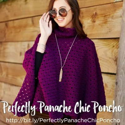 Crochet Video Tutorial-The Perfectly Panache Crochet Poncho
