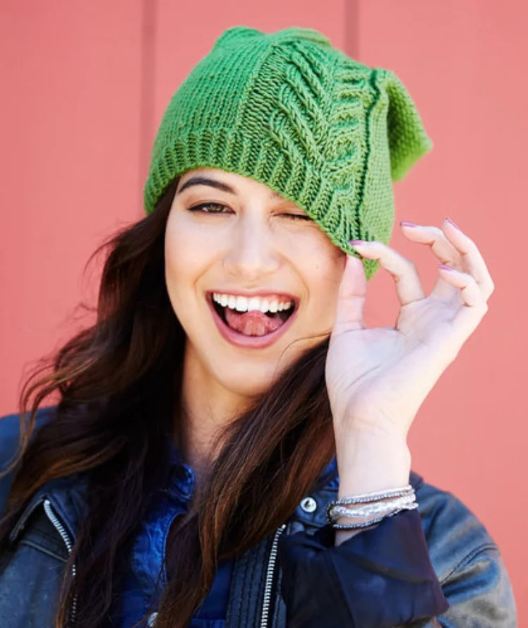 Road to Success FREE Knit hat pattern by Marly Bird