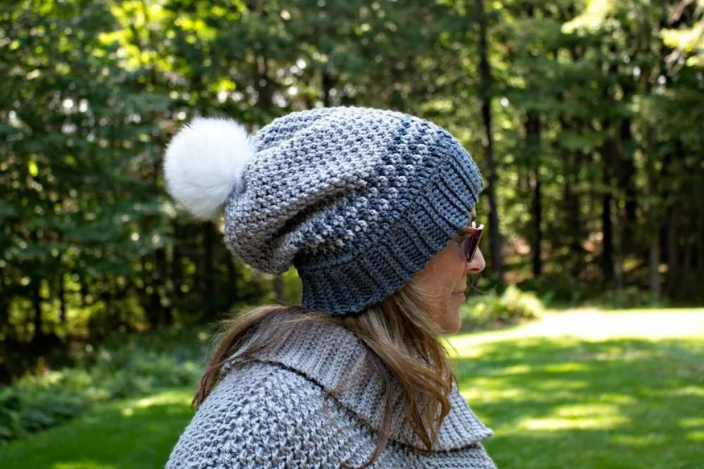 Fatima Slouch Hat by Pattern Paradise