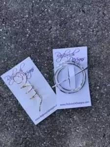 Rajkovich Designs Shawl Pin