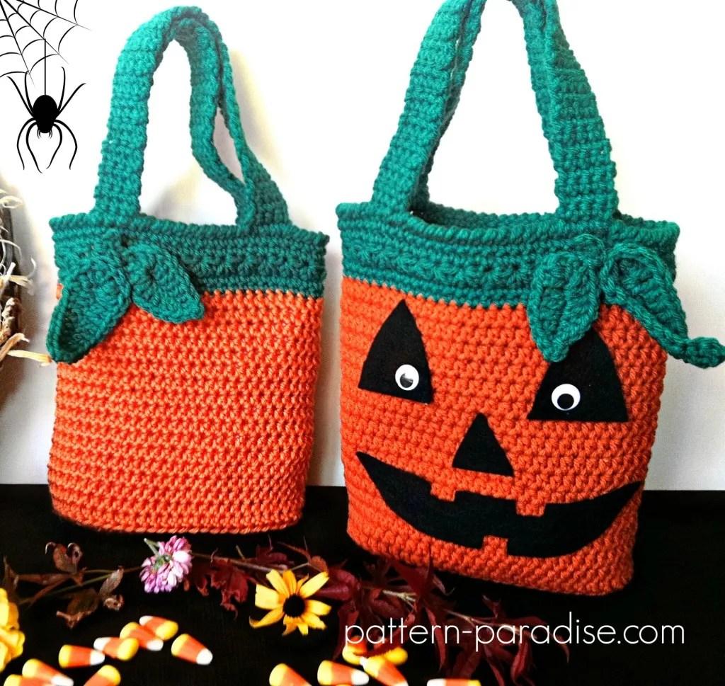 Pumpkin Halloween Bag Designed by Pattern Paradise