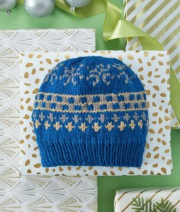 FREE Blue Hats Pattern: Favorite Fair Isle Knit Hat