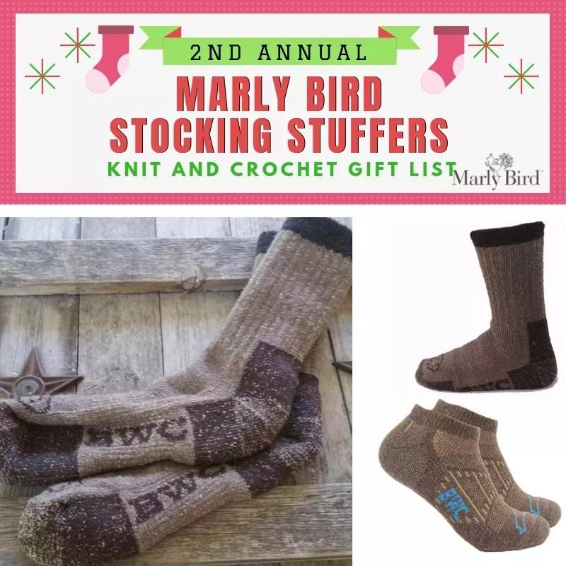 Knit and Crochet Stocking Stuffers