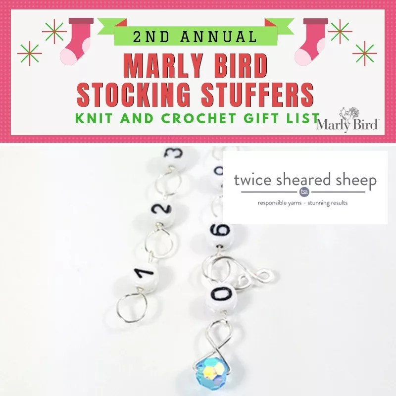 Stocking Stuffer for Knitters and Crocheters-Twice Sheared Sheep