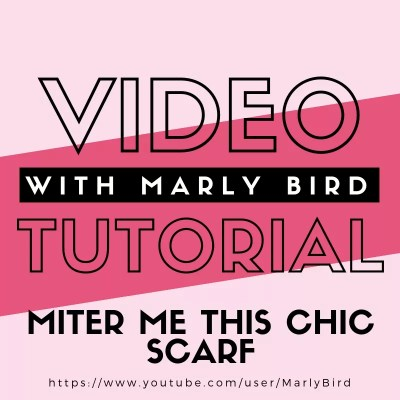 Learn To Knit Mitered Squares with Marly Bird