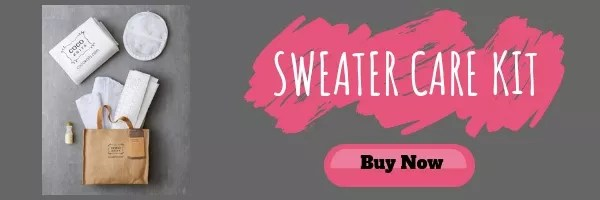 Purchase your own Sweater Care Kit from COCOKnits