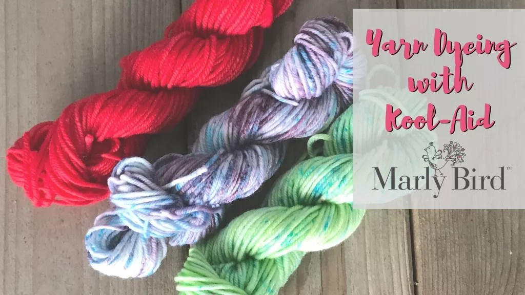 Yarn Dyeing with Kool-Aid