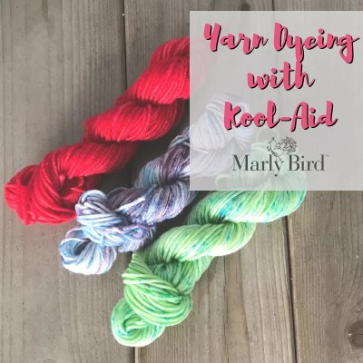 Yarn Dyeing with Kool-Aid: a Photo Tutorial