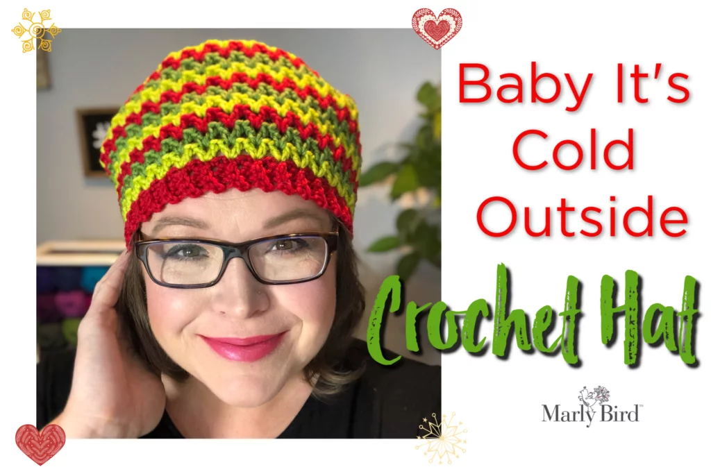 Baby Its Cold Outside Winter Hat Marly Bird