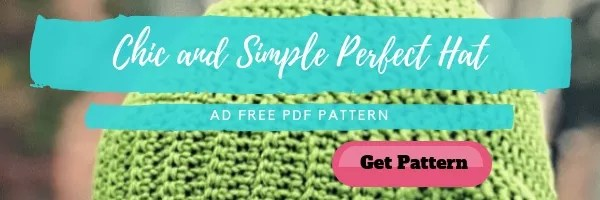 Purchase an Ad Free version of the Chic and Simple Perfect Hat