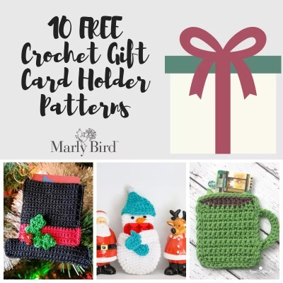 Crochet Gift Card Holders-10 FREE Patterns
