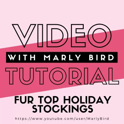 Video Tutorial Making a Crochet Christmas Stocking