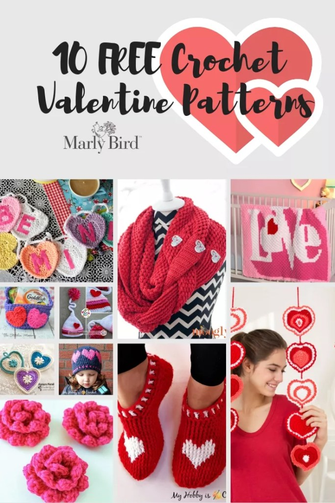Crochet Valentines Patterns Free Crochet Patterns Marly Bird