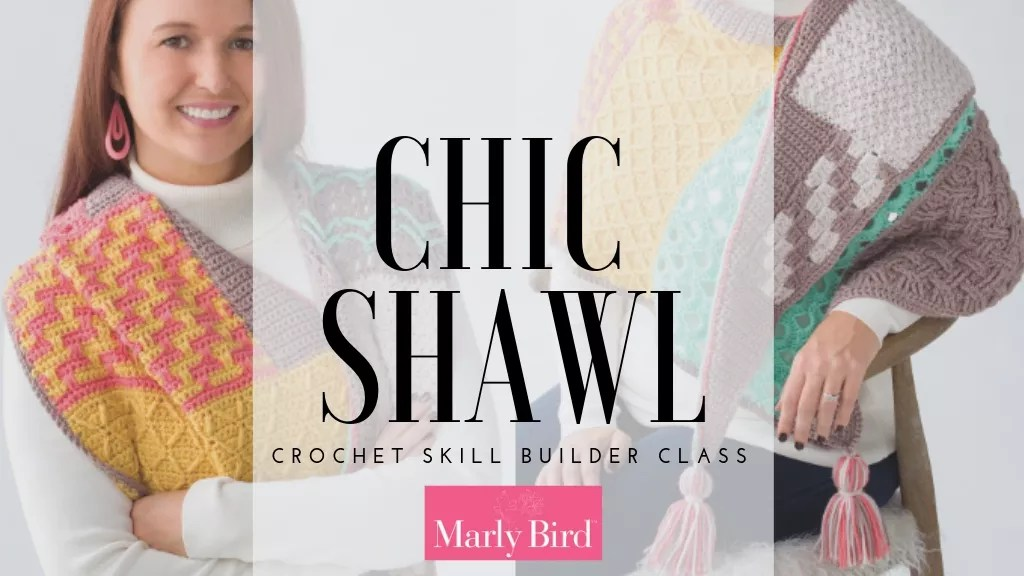Annie's Chic Shawl Crochet Skill Builder Class