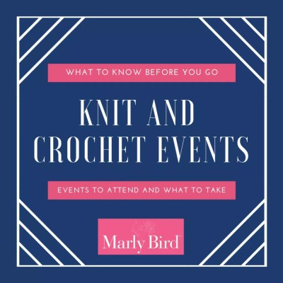 Knit and Crochet Events