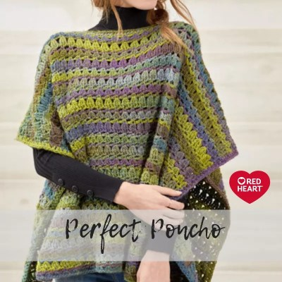 Beginner Crochet Poncho