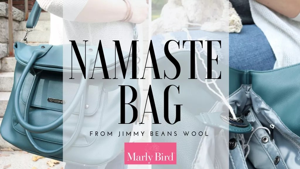 Review of the Namaste Project Bag from Jimmy Beans Wool-Knit Project Bag or Crochet Project Bag