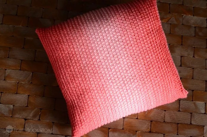 FREE Crochet Throw Pillow Cover