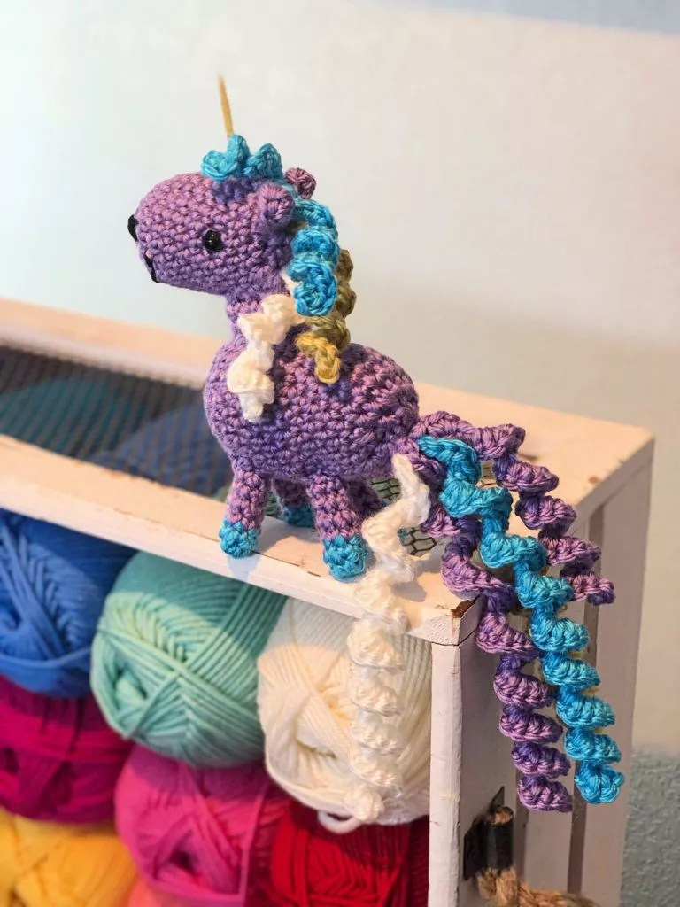 FREE Crochet Unicorn Amigurumi pattern
