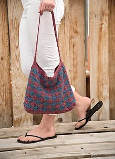 Crochet Tote-Carry All Tote by Marly Bird