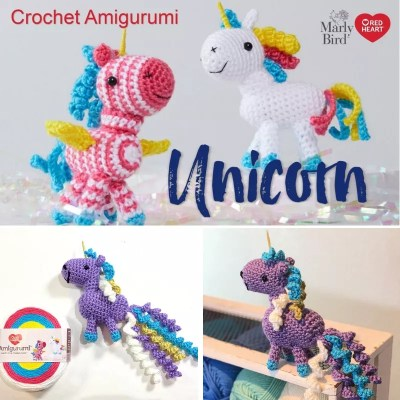 Crochet Amigurumi Unicorn
