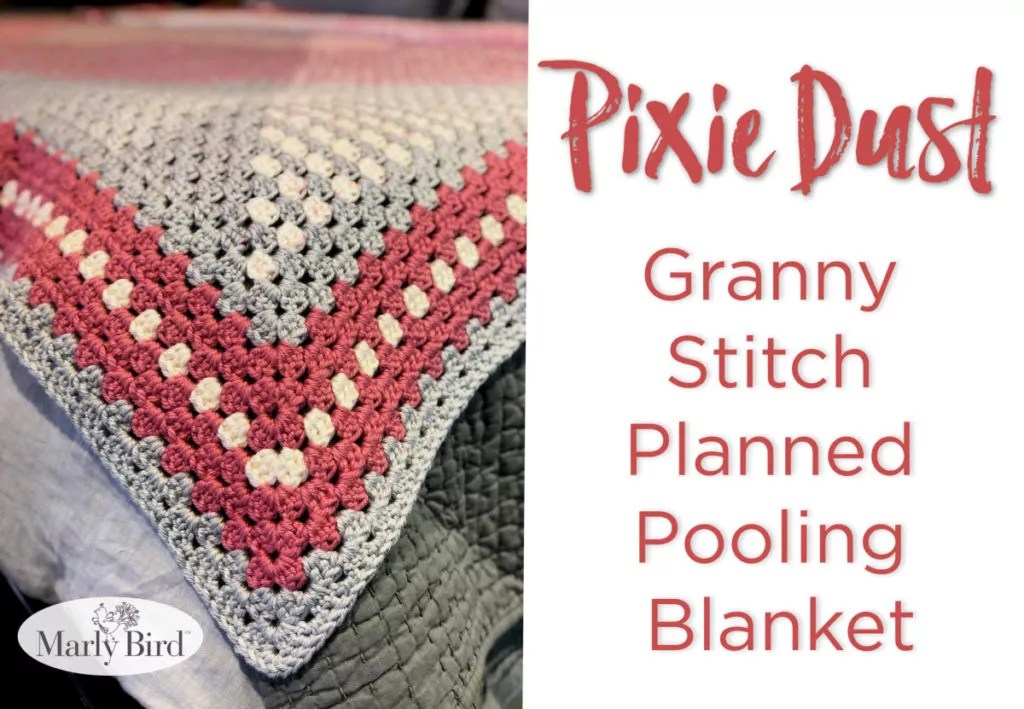 FREE Crochet Granny Stitch Planned Pooling Blanket