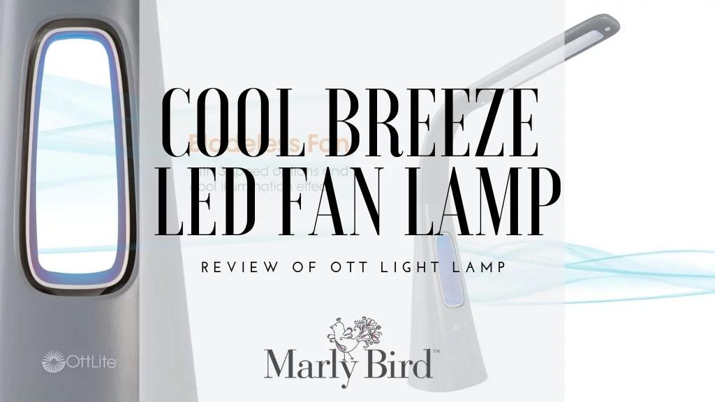 Ott light Cool Breeze Fan Lamp-Review