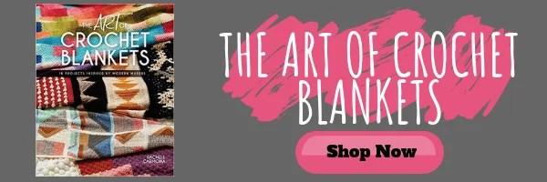 Purchase the Art of Crochet Blankets by Rachele Carmona