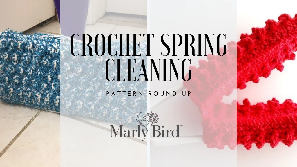 Crochet Spring Cleaning Patterns
