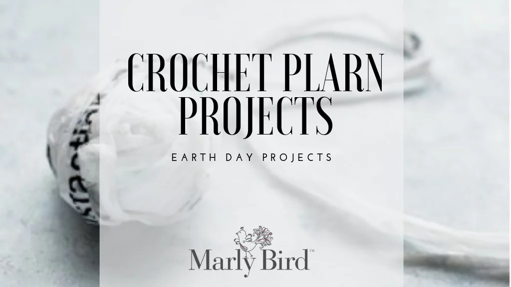 Crochet Plarn Projects-Perfect for Earth Day