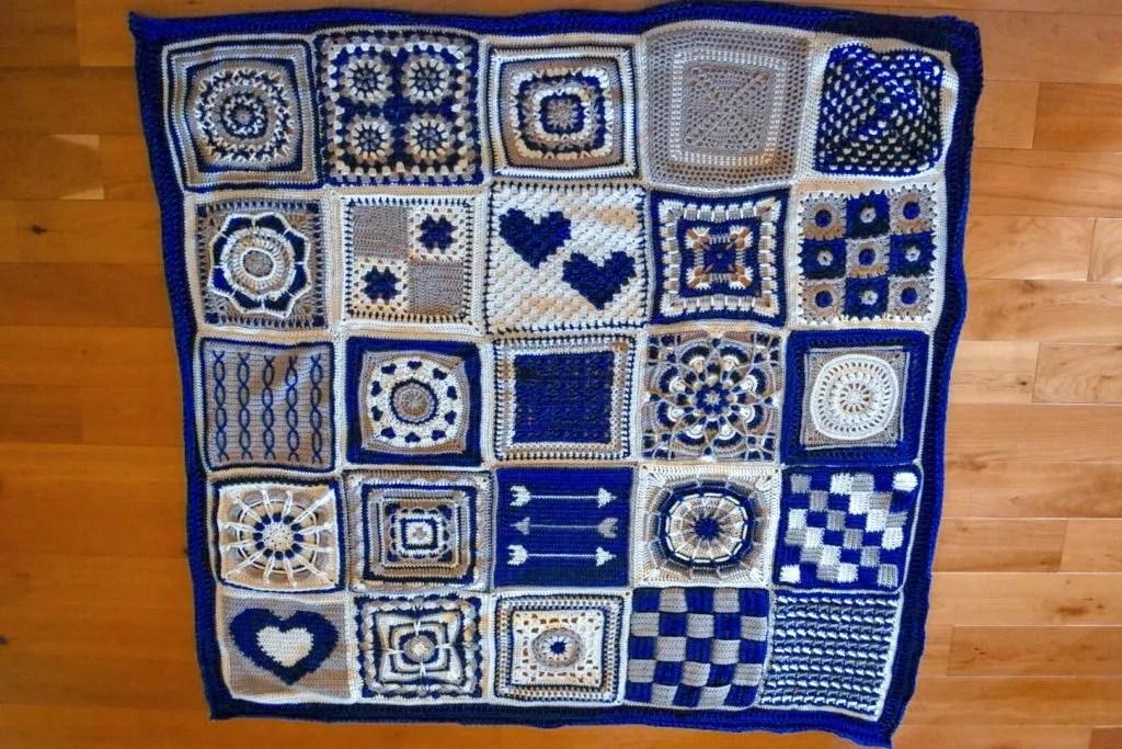 Wedding Blanket Crochet Along Marly Bird