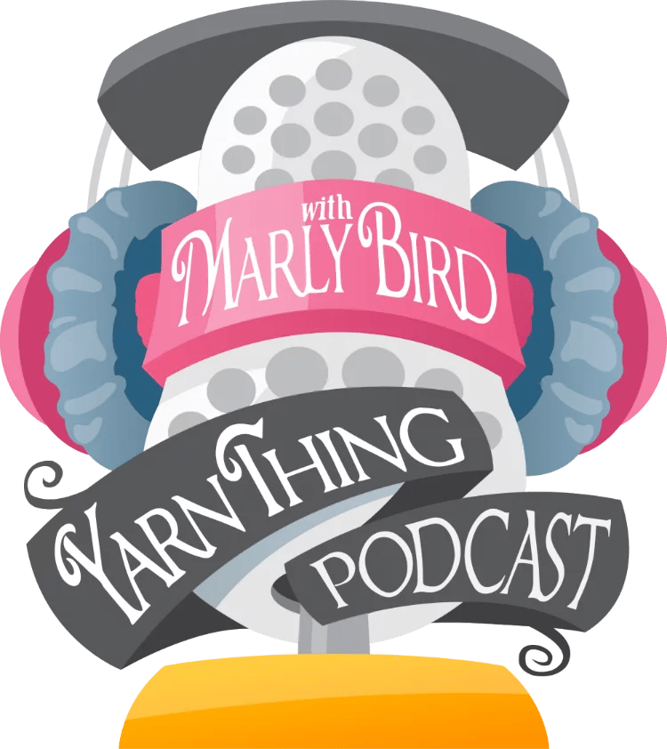 Yarn Thing Podcast with Marly Bird Logo
