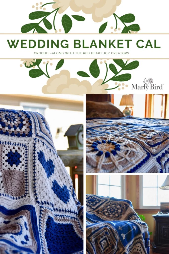 Wedding blanket crochet along make a heirloom blanket
