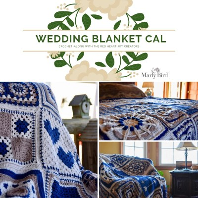 Wedding Blanket Crochet-along